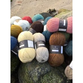 ISAGER - Highland Wool - 100% uld